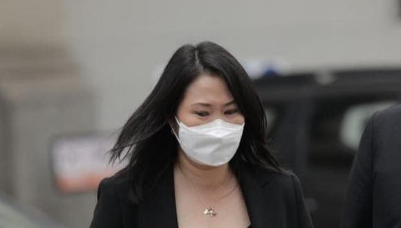Keiko Fujimori ha cuestionado pedido fiscal para suspender las actividades políticas de Fuerza Popular (Foto: Grupo El Comercio)