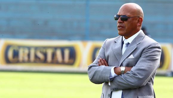 Roberto Mosquera destaca la historia de Sporting Cristal en la Copa Libertadores. (Foto: GEC)