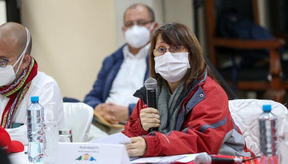 Mazzetti comentó que en unos 15 días se estarían usando las pruebas moleculares creadas por peruanos. (Foto: GEC)