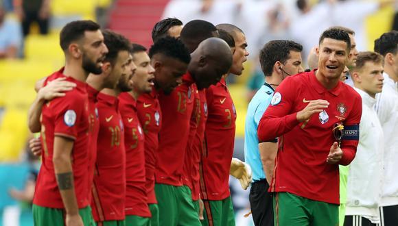 Cristiano Ronaldo anotó un gol en la derrota de Portugal vs. Alemania (Foto: Reuters)