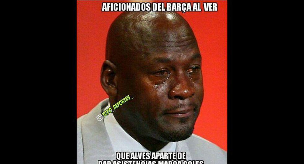 Juventus vs Mónaco: Dani Alves es protagonista de los memes - 4