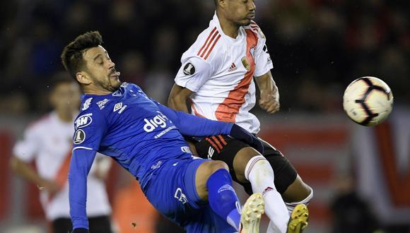 River Plate vs. Cruzeiro EN VIVO EN DIRECTO: juegan por la ida de los octavos de final de la Copa Libertadores 2019. (Foto: AFP)