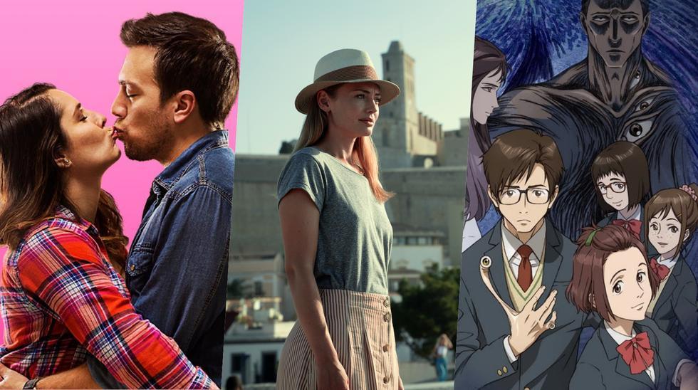 """Netflix en mayo. De izquierda a derecha, """"Sí mi amor"""", """"White Lines"""" y """"Parasyte""""; nuevos añadidos a la plataforma. Foto: Difusión."""