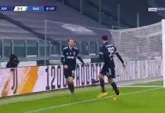 Juventus vs. Sassuolo: Aaron Ramsey y el 2-1 para darle el triunfo a la 'Vecchia Signora' | VIDEO