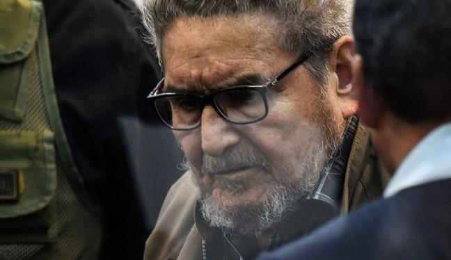 Los restos de Abimael Guzmán, cabecilla terrorista de Sendero Luminoso, permanecieron en la Morgue del Callao durante casi dos semanas a la espera de su destino final. (Foto: AFP)