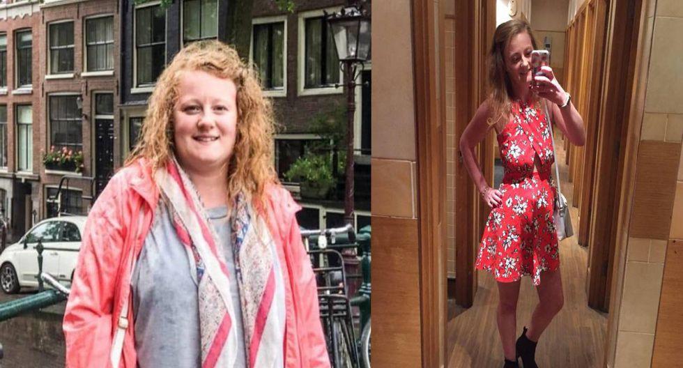 Izzie East, es una joven inglesa de 25 años, y cambió su forma de vida de manera de manera espectacular. (Foto: Facebook)