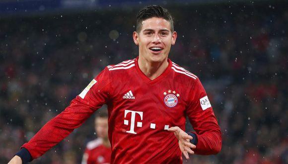 James Rodríguez anotó tres goles en la victoria del Bayern el pasado fin de semana. (Foto: Reuters)