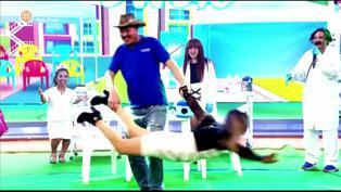 """Flor de Huaraz y el Gringo Karl realizan divertido baile en """"El Reventonazo de la Chola"""""""