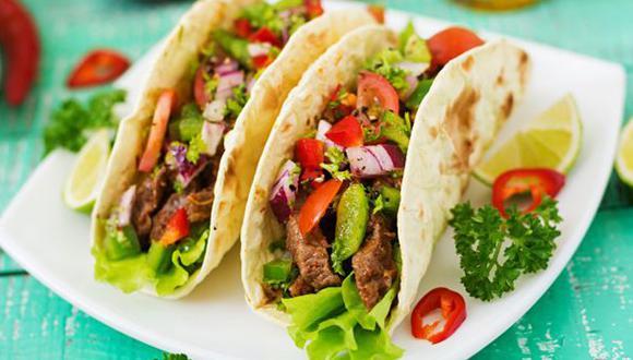 El taco es considerado uno de los platillos más representativos de la comida mexicana (Foto: Freepik)