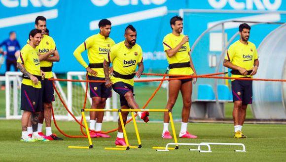 FC Barcelona volverá a trabajar con el grupo completo desde el lunes 1 de junio. (Foto: FC Barcelona)