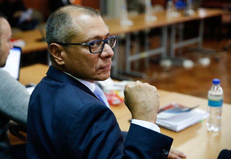 Jorge Glas fue vicepresidente de Moreno durante poco tiempo. Ahora está en prisión por el Caso Odebrecht. (EFE)