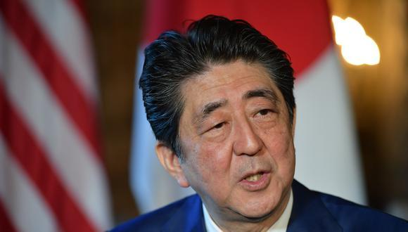 Shinzo Abe, primer ministro de Japón, espera una pronta solución a la crisis en Venezuela.(Foto: AFP)