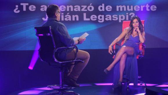 Aída Martínez asegura que Julián Legaspi la amenazó de muerte