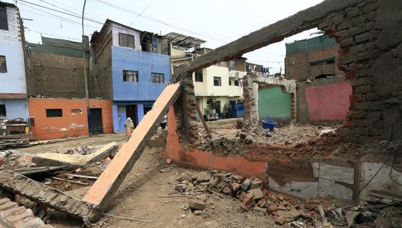 Falta reubicar 550 viviendas para la obra Vía Parque Rímac