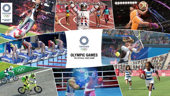 Juegos Olímpicos de Tokyo 2020: El videojuego oficial. (Imagen: Difusión)