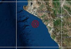 Chiclayo: descartan tsunami en litoral peruano tras sismo de 4.4 grados