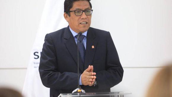 Vicente Zeballos, presidente del Consejo de Ministros. (Foto: GEC)