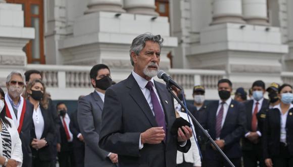 Francisco Sagasti jurará como presidente de la República este martes en una ceremonia que se realizará a las 4 p.m. (Foto: Grupo El Comercio)