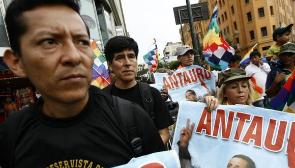 Posemoscrowte Chagua, congresista de Unión por el Perú, fue uno de los sentenciados por el andahuaylazo junto a Antauro Humala. (Foto: El Comercio)