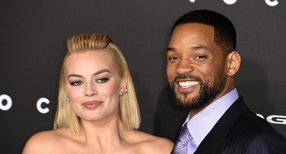 FOTO 1 DE 3 | Will Smith y Margot Robbie, vuelven los rumores de romance tras confesión de Jada Pinkett | Foto: AFP (Desliza a la izquierda para ver más fotos)