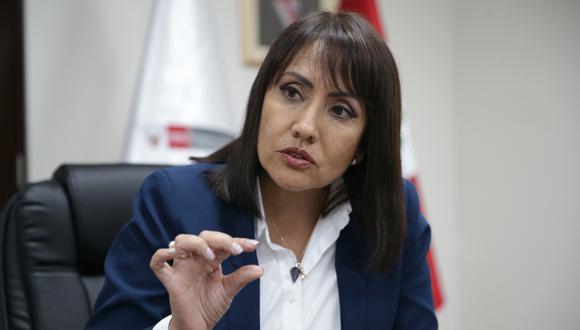María Jara dijo que la ATU no puede prometer que solucionará el problema del transporte informal. (Foto: GEC)