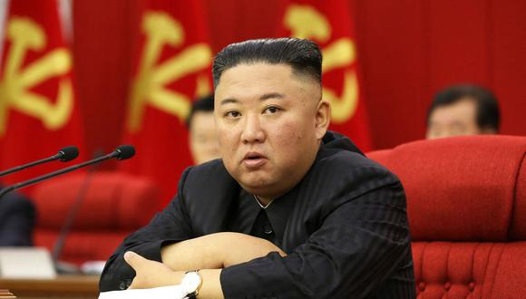 El líder de Corea del Norte Kim Jong-un. (Foto: AFP).