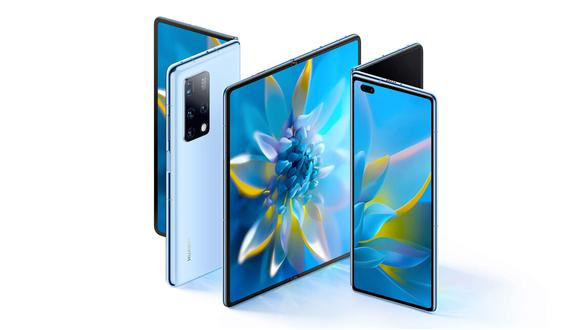 El Mate X2 es el nuevo celular plegable de Huawei. (Difusión)