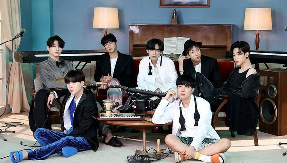 "Foto promocional de ""BE"", el más reciente álbum de BTS. Foto: Big Hit Entertainment."