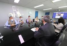 Jefes de ONPE, Reniec y el JNE se reunieron con Misión de Observación Electoral de la OEA
