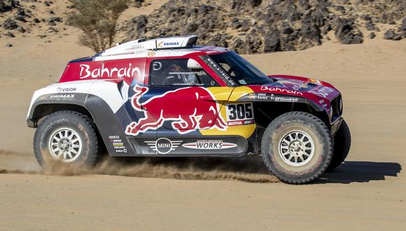Carlos Sainz es una de las grandes atracciones del Dakar 2020 | Foto: EFE
