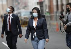 """Keiko Fujimori tras rechazo de prisión preventiva: """"Voy a seguir defendiendo la voluntad popular y mi derecho a hacer política"""""""