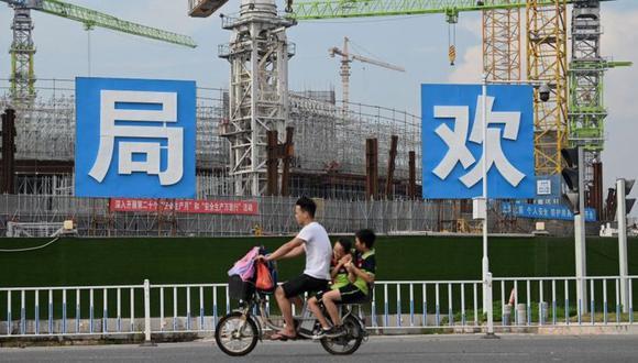Evergrande está en la actualidad construyendo un estadio para su equipo de fútbol, el Guangzhou FC. (Getty Images).
