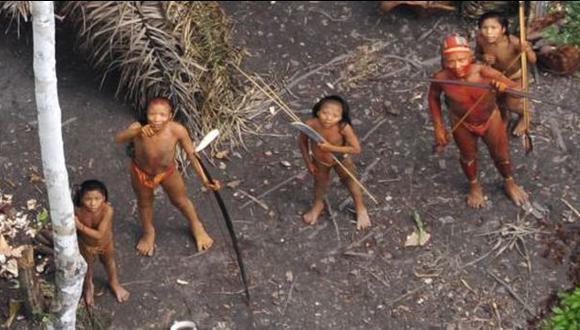 Nativos de Shipetiari avistan a indígenas mashco no contactados