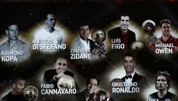 Luka Modric se convirtió en el séptimo jugador del Real Madrid en ganar el Balón de Oro.   Foto: AP
