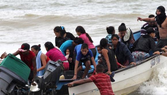 Los venezolanos pasaron 48 horas en alta mar. (Reuters).