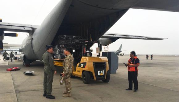 El Perú envió 14 toneladas de ayuda a Cuba. (Foto: Twitter Cancillería de Cuba)