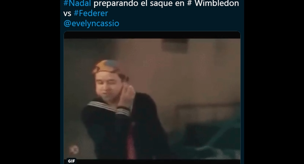 Los más divertidos memes y tuits de Rafael Nadal vs. Roger Federer en Wimbledon. (Facebook)