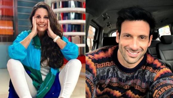 Rebeca Escribens y George Slebi Cusse sorprenden con imitación de Marc Anthony y Paloma San Basilio. (Foto: Instagram)