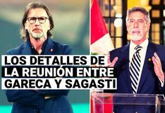Ricardo Gareca desveló detalles de la reunión con el presidente Francisco Sagasti