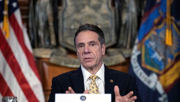 Coronavirus: el gobernador de Nueva York Andrew Cuomo dice que no obedecería orden de Donald Trump de reabrir el estado. (Foto: EFE/Mike Groll/Gobernación de Nueva York).
