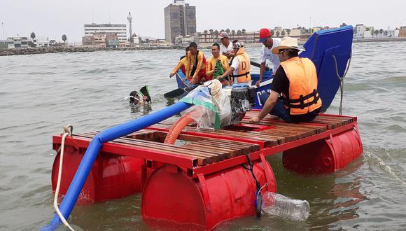 La primera prueba se desarrolló en la playa Carpayo. (Municipalidad del Callao/Facebook)
