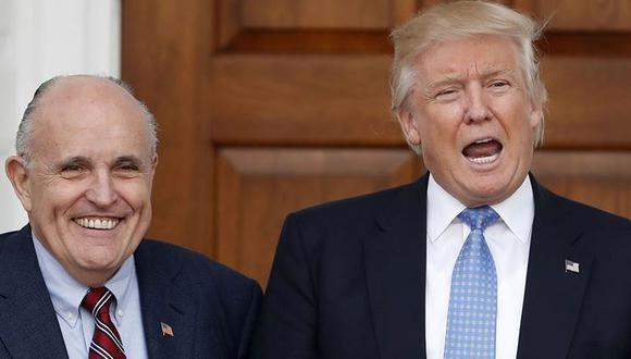 Rudy Giuliani: Donald Trump tendría el poder de indultarse a sí mismo. (Foto: AP)