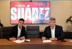 Luis Suárez fue anunciado oficialmente como delantero de Atlético de Madrid