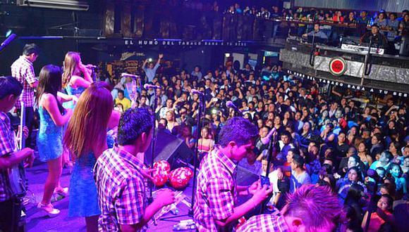 Hasta S/.500 mil mueve la cumbia en un concierto en el Perú