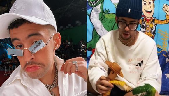 El cantante puertorriqueño subió a su cuenta de Instagram videos en los que hace su propia versión de Toy Story en los tiempos del coronavirus. (Fotos: instagram)