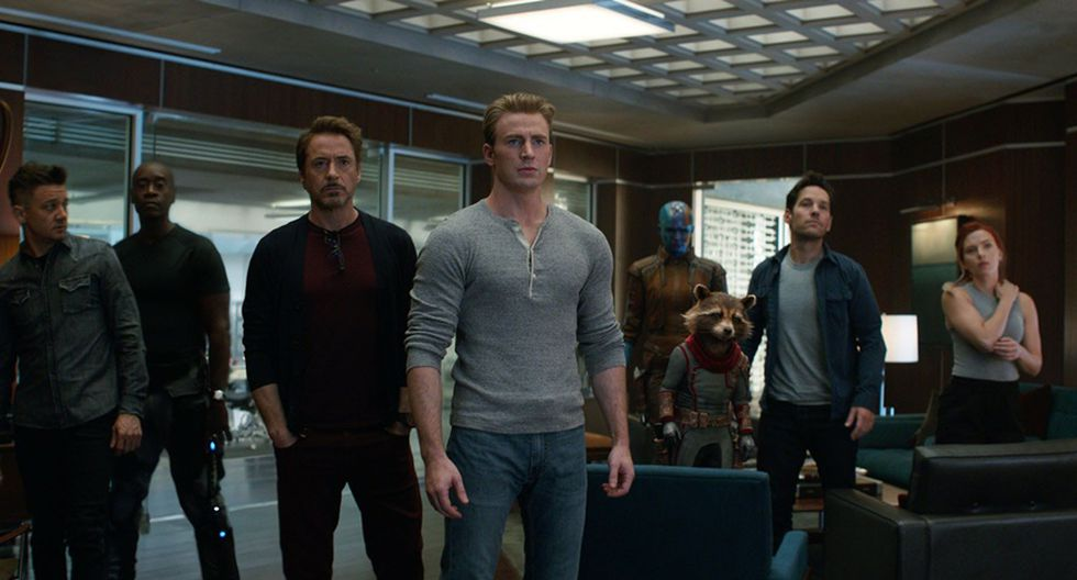 """Escena de """"Avengers: Endgame"""". La cinta de Marvel se convirtió en su segundo fin de semana en la segunda película con mayores recaudaciones en el mundo entero, superando a """"Titanic""""."""