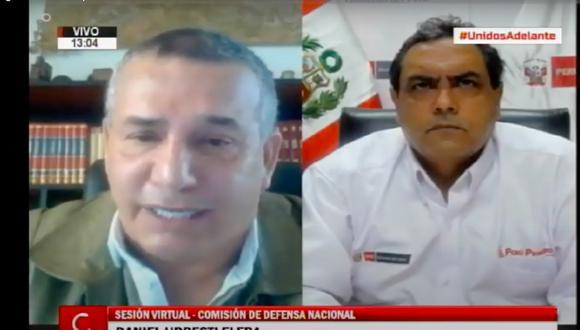 El ministro del Interior, Jorge Montoya, exhortó a la población a respetar las restricciones durante la pandemia.