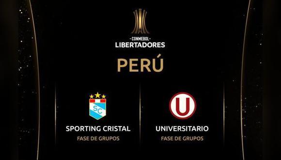 Copa Libertadores: Conoce aquí cuándo se conocerán los rivales de los equipos peruanos en la fase de grupos. (Foto: Twitter)