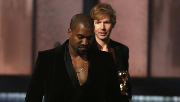 Beck reaccionó así tras incidente con Kanye West en el Grammy