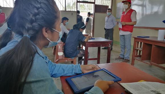 Ministerio de Educación suspende clases semipresenciales en dos secciones de colegio de Surco tras detectarse un caso de COVID-19 entre alumnos    Foto: Referencial / Andina (Archivo)